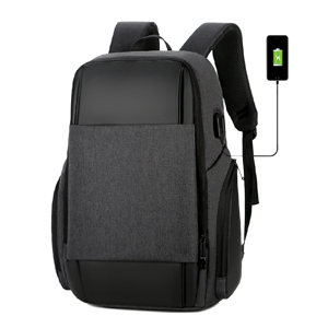 BF7280/BK Travel Laptop Backpack, with USB Charging Port
