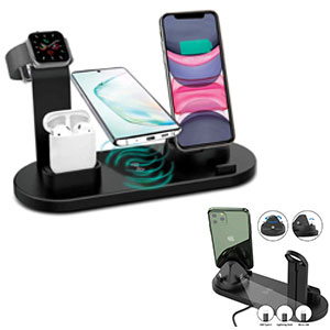 MFDC/101-4 In 1 Wireless Charging Station Dock